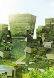 Forest City artist impression by Mick van Gemert