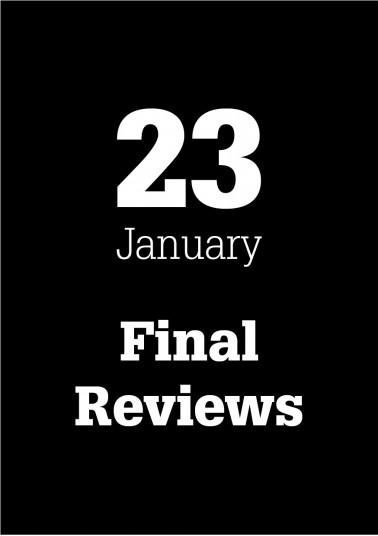 Final Reviews January 2014