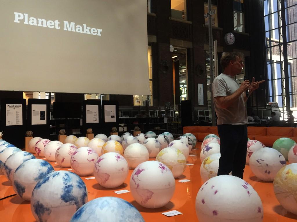 The Planet Maker Design Studio: 48 scenarios for earth in the next